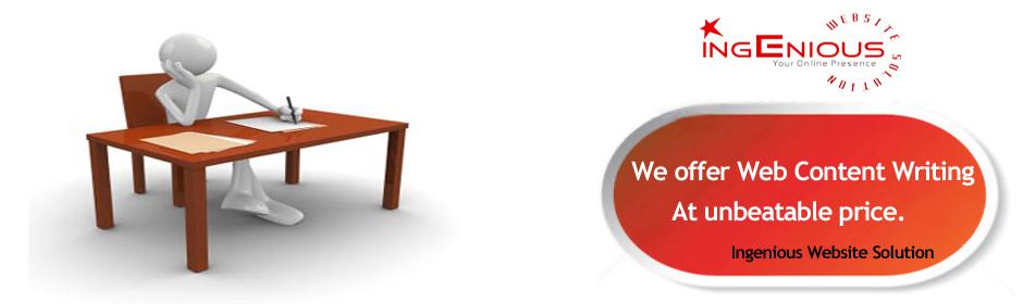 Custom writing website development services