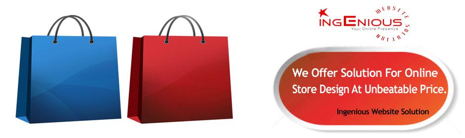 online store design ingenious website solution. Black Bedroom Furniture Sets. Home Design Ideas