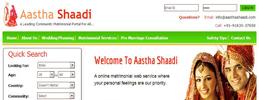 www.aasthashaadi.com